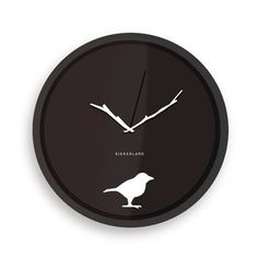 "Kikkerland 8"" Early Bird Wall Clock"
