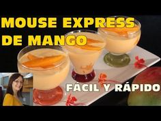 Mouse Express de Mango - La Repostería de Graciela Coca - YouTube Trifle, Jello, Flan, Kids And Parenting, Sweet Treats, Cheesecake, Shots, Halloween, Youtube