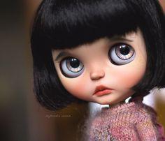 ❤OOAK Custom by Cupcake Curio Blythe Art Doll šťovík salonku Licca tělo Outfit Set❤ | eBay