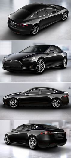 Tesla - Model S. Electric, smart. Properly done.