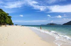Die Insel ist ein Paradies unter Palmen, umgeben von kristallklarem Wasser... Foto/cc: Photographer Sergy