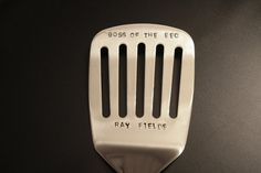 I FLIP for YOU, fathers day gift, can personalize,hand stamped grilling spatula.  Gift for dad, grandpa. man gift,  camping, BBQ