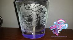 Rarity engraved glass by angel99percent.deviantart.com on @DeviantArt