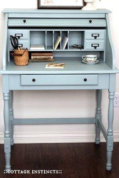 Color Inspiration Mondays #DIY #paintedfurniture #colorinspiration #elegance - www.countrychicpaint.com/blog