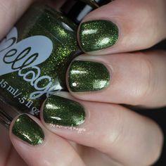 Ellagee Valad #green polish