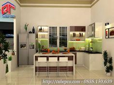 Tủ bếp đẹp 9