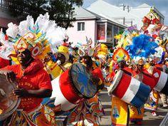 Junkanoo parade Bahamas