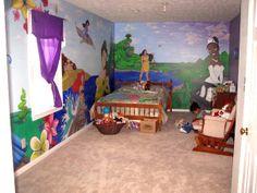 disney wall mural