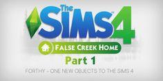 FALSE CREEK HOME fun Stuff Pack PART 1 at Pyszny Design • Sims 4 Updates