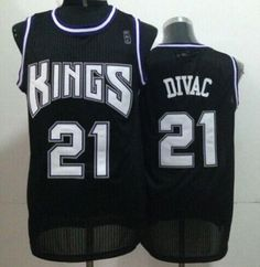 c23ef8809 Kings  21 Vlade Divac Black Throwback Stitched NBA Jersey Cheap Nba Jerseys