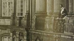 The proclaimed King Christian X on the balcony of Christian VII's Palace, Amalienborg, 15 May 1912.