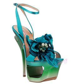 Shop Women's Gianmarco Lorenzi Sandal heels on Lyst. Track over 125 Gianmarco Lorenzi Sandal heels for stock and sale updates. Me Too Shoes, Gianmarco Lorenzi, Cinderella Shoes, Colorful Shoes, Satin Flowers, High Heels Stilettos, Sandal Heels, Heeled Sandals, Shoes
