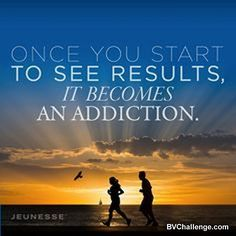 Once you start to see results it becomes an addiction. bv yahsuccessblog.com #yahsuccess #optimism #results