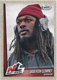 Jadeveon Clowney (Rookie) Houston Texans 2014 Sage Hit Next Level (Gold Parallel) card #77