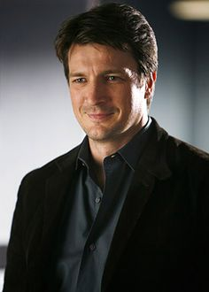 Nathan Fillion. He is so darn cute!!