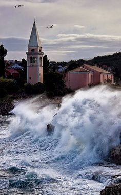 Veli Lošinj - Croatia Croatian Coast, Croatia Travel, Vacation Places, Dubrovnik, Macedonia, Slovenia, Lighthouses, Homeland, Places Ive Been