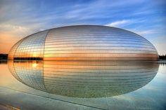 """Beijing Opera House """"The Egg"""" - 国家大剧院] by 5ERG10, via Flickr"""