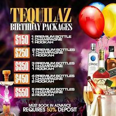 Party season is just beginning. Fall babies are getting ready to party! Where are you booking your birthday weekend? TEQUILAZ RESTAURANT LOUNGE . H A P P Y . H O U R .  A L L  W E E K!   Stop by and chill! #TequilaTuesdays #WineWednesdays #TequilaThursdays #AfterworkFridays #SaturdayBrunch #SundayBrunch  #Lunch #Brunch #Dinner #birthdaycelebrations #girlsnightout #guysnightout #dinnerwithfriends #birthdaypackages #music #dance #party #bar #lounge #karaoke #hookah #Bronx  #TequilazBx