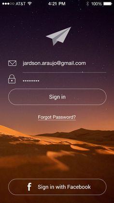 sign in / login Login Page Design, App Ui Design, User Interface Design, App Login, Desktop Design, Android Design, Mockup, App Design Inspiration, Apps