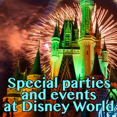 Special Disney World parties and events (and if they're worth it) - how much they cost, when they take place, if they're worth it