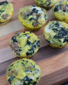 A ridiculously simple breakfast staple these sausage and kale egg