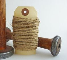 Jute Twine Natural 10 yards gift wrapping by TheMerchantsCottage