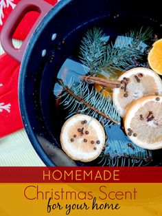 Ally's Sweet and Savory Eats: Homemade Christmas Scent for Your Home