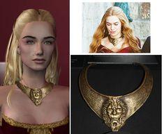 Lannister sigil Lion breastplate necklace by maya40.deviantart.com on @DeviantArt