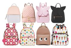 """""""The cutest backpacks"""" by emmaviers on Polyvore featuring Calvin Klein, Sophia Webster, MICHAEL Michael Kors, MMS Design Studio and Anya Hindmarch"""