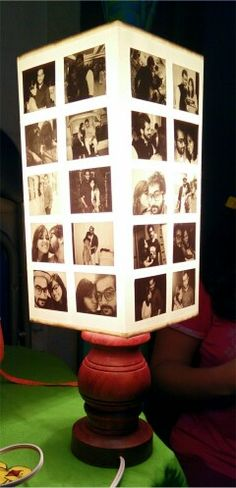 A personalized lamp shade for my sister and my brother-in-law Created this with my sister @fatemal90