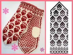 Community photos Kein Name Crochet Mittens Free Pattern, Knit Mittens, Mitten Gloves, Knitting Charts, Hand Knitting, Knitting Patterns, Crochet Patterns, Crochet Summer Dresses, Cat Pattern
