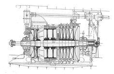 AEG_marine_steam_turbine_(Rankin_Kennedy,_Modern_Engines,_Vol_VI).jpg (1323×861)