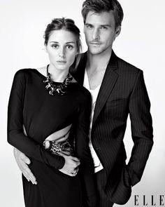 Olivia Palermo & Johannes Huebl. Style couple.