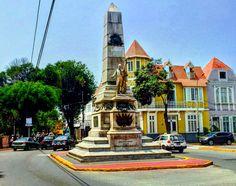 Monumento a Don José de San Martín, Barranco, Lima - Perú