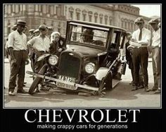 Chevrolet - Making Crappy Cars for Generations