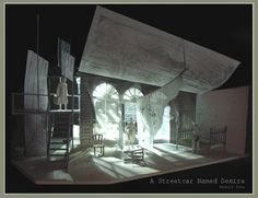 A Streetcar Named Desire (Model). Nuffield Theatre Company. Scenic design by Robin Don. 2008