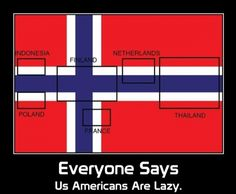Inside the Norwegian flag you can find flags from 6 other countries. Wtf Funny, Funny Jokes, Hilarious, Norwegian Flag, Tim Beta, Bad Puns, The More You Know, Best Memes, Hetalia