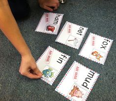 Mail themed centers to review short vowel CVC words! Students will match the picture (stamp) to the corresponding envelope.