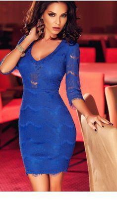 Color de moda.  Azul