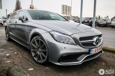 Mercedes-Benz CLS Shooting Brake | Mercedes-Benz CLS 63 AMG S X218 Shooting Brake 2015 - 25 januari 2015 ...