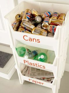 Storage & Organization Ideas for Recycling Centers
