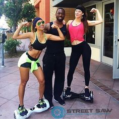 Just hanging out with the crew showing off our #health and #fitness from the #gym! #StreetSaw