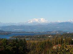 Lago di Varese e monte Rosa
