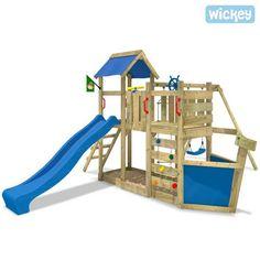 Spielturm Wickey Oceanflyer Kinderspielturm mit Schiffscharakter