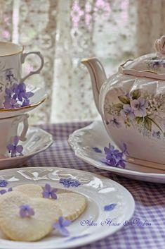 Lavender Gingham