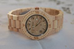 Wooden Watch For Women or Men Sandal Wood Watch Wrist Bracelet Quartz Vintage Watch With Calendar Round Dial Gift(W01029) on Etsy, $54.99