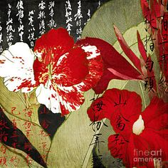 Painting - China Red Canna by Mindy Sommers