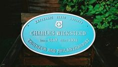 Charles Wicksteed, son of Unitarian minister of Leeds, blue plaque, Kettering