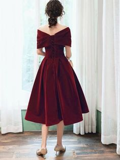 Prom Party Dresses, Homecoming Dresses, Evening Dresses, Bridesmaid Dresses, Dress Party, Classy Dress, Tea Length, Pretty Dresses, Party Wear
