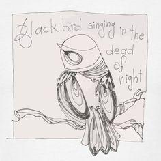 """Blackbird"" Tee, Men"